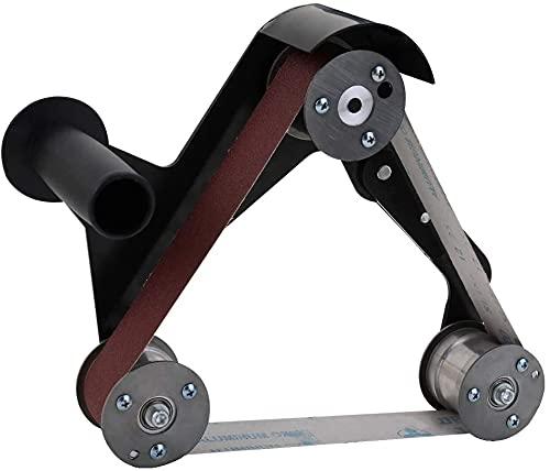 Bandschleifer, Elektrische Schleif- und Poliermaschine Multifunktionszubehör, Adapter, Schleifband, Winkelschleifer, Schleifmaschine, Schleifmaschine
