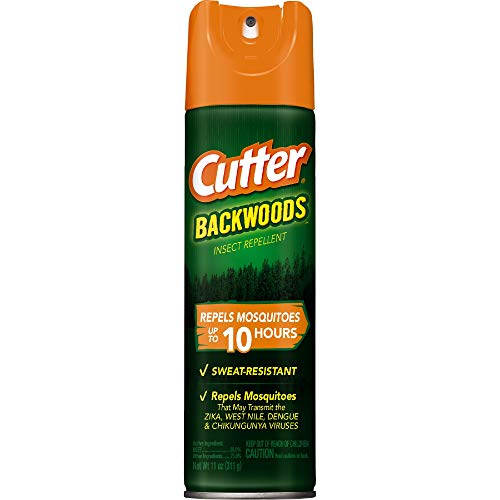 Cutter Backwoods Insect Repellent, Aerosol, 11-Ounce