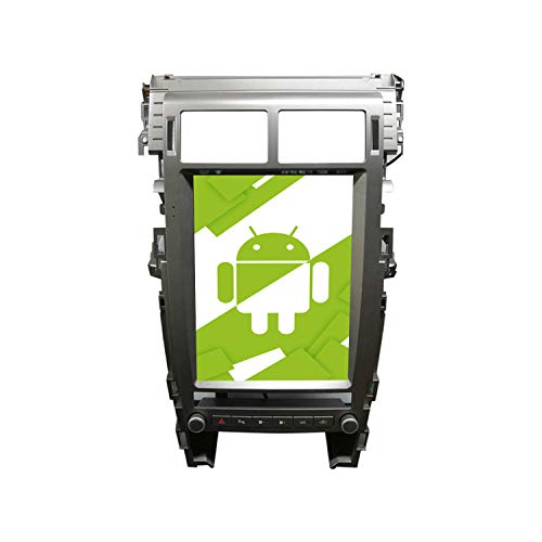 AOTSR 12,1 Pulgadas Android 9.0 Radio de Coche, para Land Rover Discovery 5 2015-2019, Autoradio Reproductor de DVD HD con Pantalla Vertical, DSP, Navegación GPS Carplay, Bluetooth, WiFi