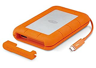 LaCie STEV2000400 Rugged Mini Hard Disk Esterno, 2 TB, Thunderbolt, USB 3.0, Arancione/Grigio (B01E5YIIWS) | Amazon price tracker / tracking, Amazon price history charts, Amazon price watches, Amazon price drop alerts