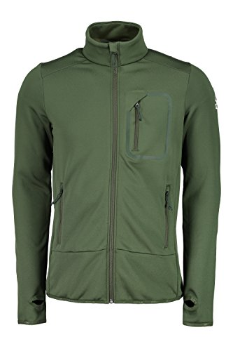 Maloja Herren LugoM Sweatshirt, grün (Wood), M