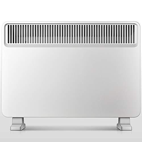 WUX verwarmingsapparaat, opslag instelbare huishoudelijke energie, waterdichte elektrische verwarming, 2 warmtestanden 1000-1800 W, voor badkamer, woonkamer, slaapkamer