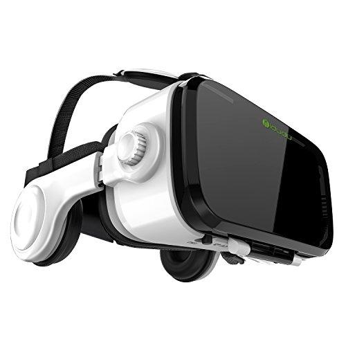 『iDudu 3DVRゴーグル ヘッドセット実装 焦点/瞳孔距離調節可能 音量調整可能』の1枚目の画像