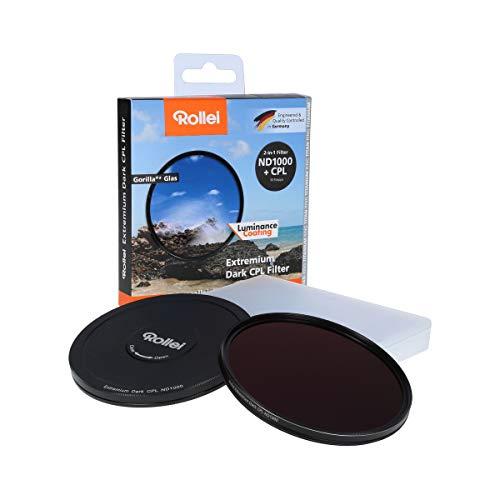 Rollei Redondo Filtro extremium Dark CPL ND1000Tope, 58mm Gris