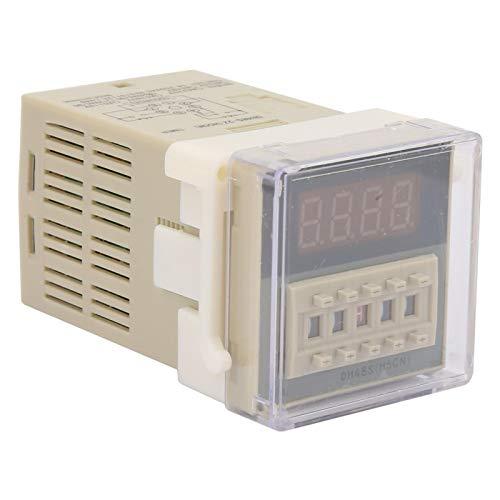 Relé de Tiempo de Pantalla LCD Claro DH48S-2Z para Vallas publicitarias al Aire Libre para talleres de fábrica(110VAC)