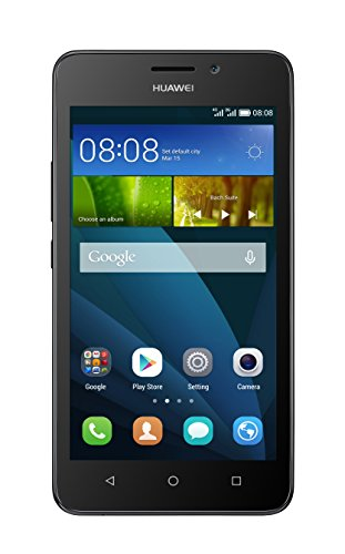 Huawei Ascend Y635 Smartphone 4G LTE, Dual SIM, Display 5  Pollici, 8 GB Memoria interna, 1GB RAM, Processore QuadCore 1.2 Ghz, Nero