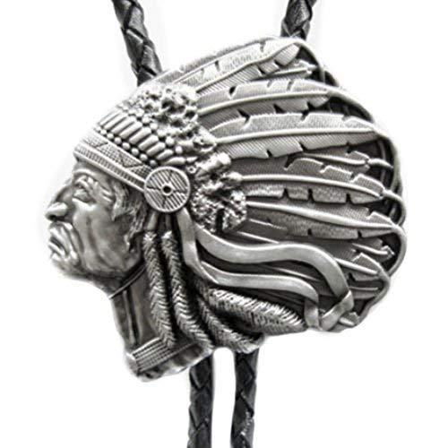 Bolo Tie Indian Chief, Indianer Häuptling, Bolotie, Western-Krawatte