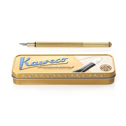 Special brass fountain pen