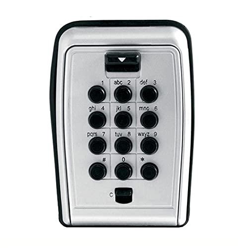 YCZDG Llave de Bloqueo Caja Segura Caja de Metal Contraseña Locker Montaje de Pared Claves de código de combinación KEEPR Caja de Almacenamiento para Uso doméstico Uso de la fábrica