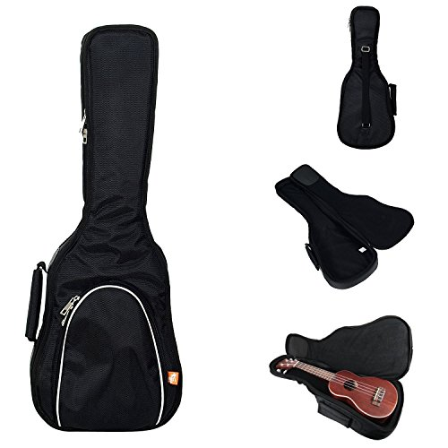 Hola! Heavy Duty SOPRANO (up to 21.5 Inch) Ukulele Gig Bag with 15mm Padding