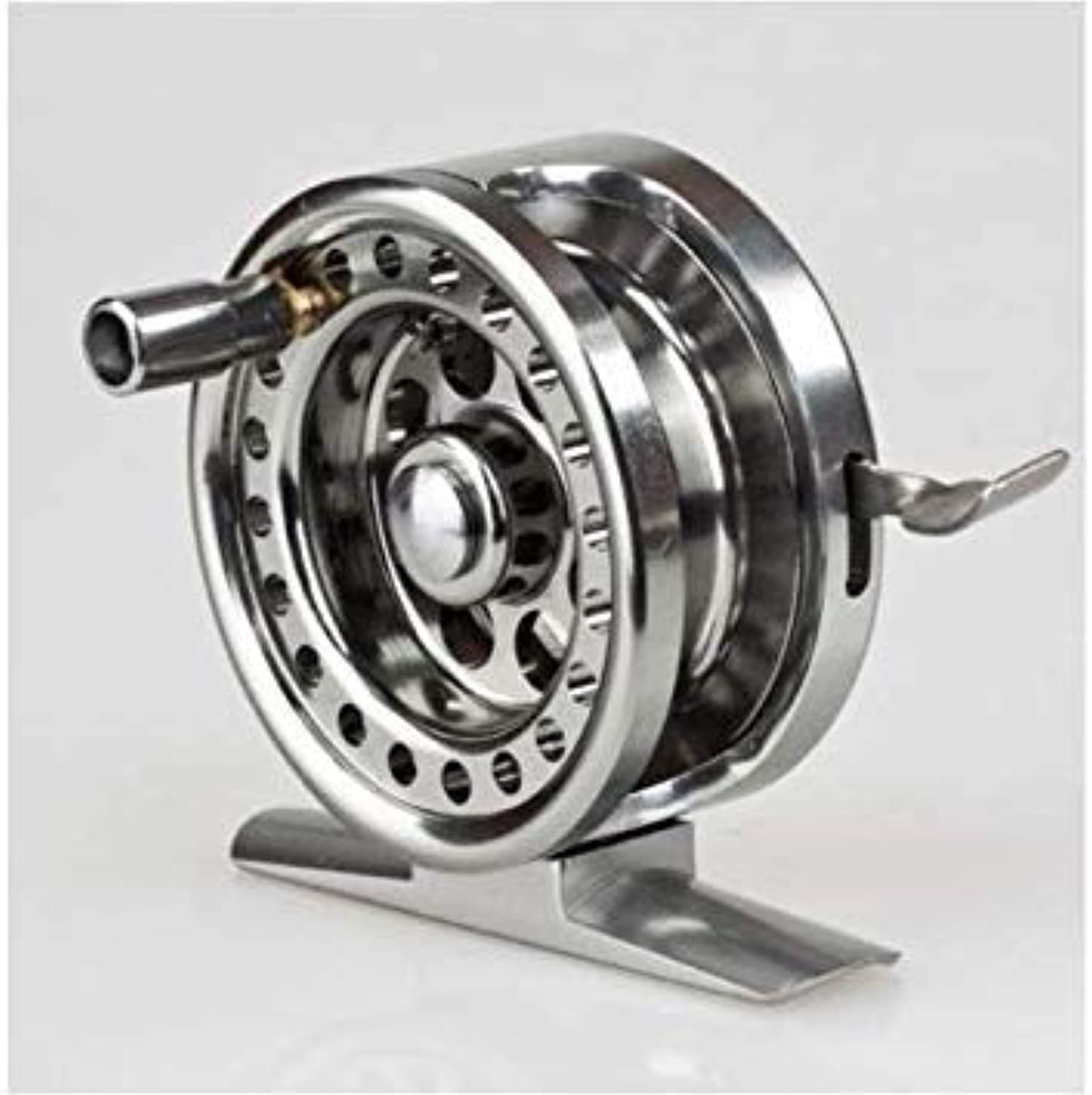 GEOPONICS 2018 New Left Right Handed LureCasting Fishing Reel Vessel 5.3 1 Drum Wheel Saltwater Fish Line Coil color Silver