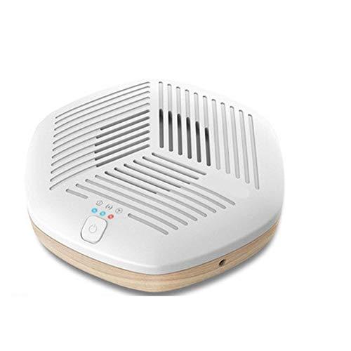 JFSKD Generador De Ozono,Portátil Multifuncional Anión USB Purificadores De Aire del Purificador De Aire Ozono,Refrigerador del Coche Armario Armario Zapatero Desodorización Rápida