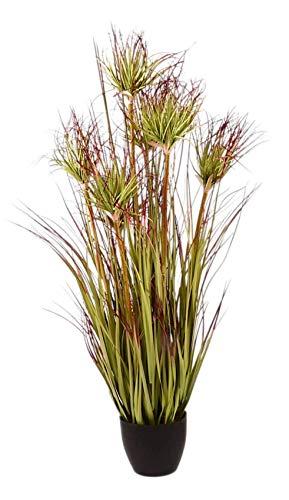 1a-Handelsagentur Künstl. Bambusstrauch im Topf 90cm Kunstpflanze Kunstbaum Zimmerpflanze Deko
