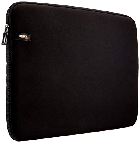 AmazonBasics - Sleeve per Laptop / MacBook Air / MacBook Pro / MacBook Pro con display Retina, 17,3 pollici, colore: Nero