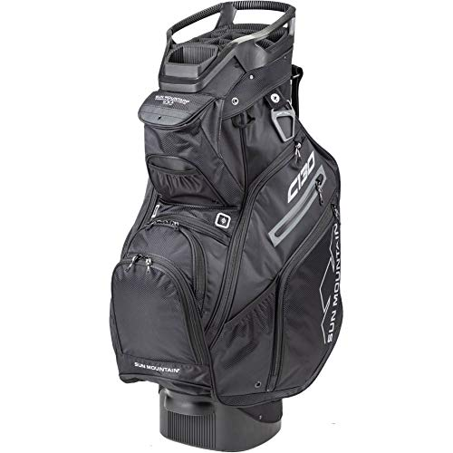 Sun Mountain 2020 C-130 Golf Cart Bag Black/Black