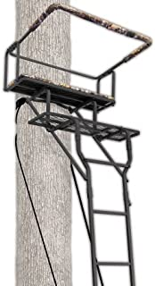 Ameristep 15' Two-Man Ladderstand w/ RealTree AP Seat - coolthings.us