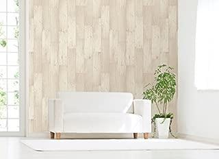 无残留! 装饰壁纸 宽45×高250cm 木纹 WAP-502S CR·奶油
