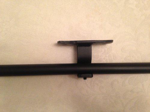 Versandkostenfrei Schmiedeeisen Mitte 1 x Halterung für Gardinenstange 20 mm, SUPER starker Halt geliefert. Versandkostenfrei!