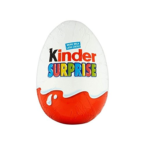 Kinder Huevo De Chocolate Sorpresa (20g) (Paquete de 2)