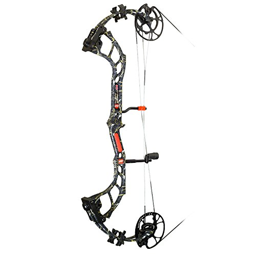 Precision Shooting Equipment Bow Madness #70 Skullworks 2 34-Bow, 29', Right, Camo