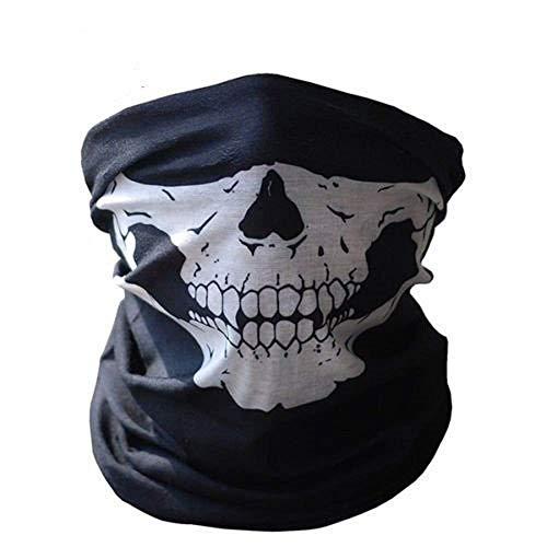 Inception Pro Infinite - Sturmhaube - Schirm - halbes Gesicht - Skelett - Militär - Maske - bewaffnet - Weihnachts - und Geburtstagsgeschenkidee