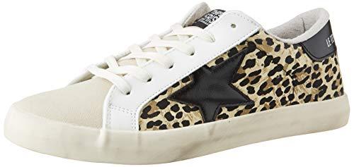 Le Temps des Cerises City, Zapatillas para Mujer, Leopardo, 40 EU