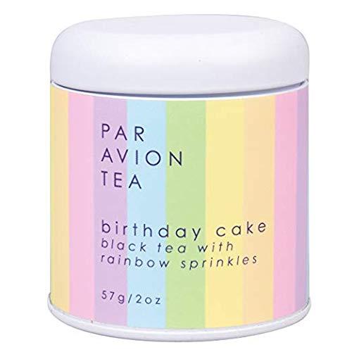 Par Avion Tea Birthday Cake Tea - Loose Leaf Tea With Sprinkles - 2 oz
