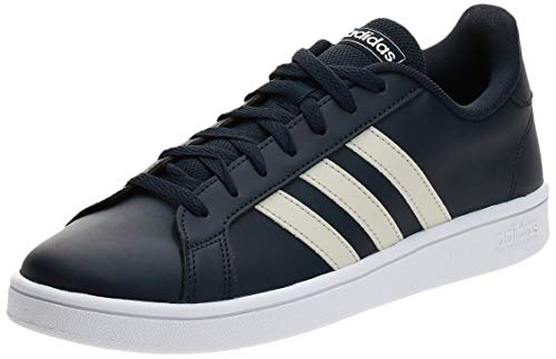 Adidas Grand Court Base, Scarpe da Tennis, Uomo, Blu (legend ink/raw white/core black), 42 EU