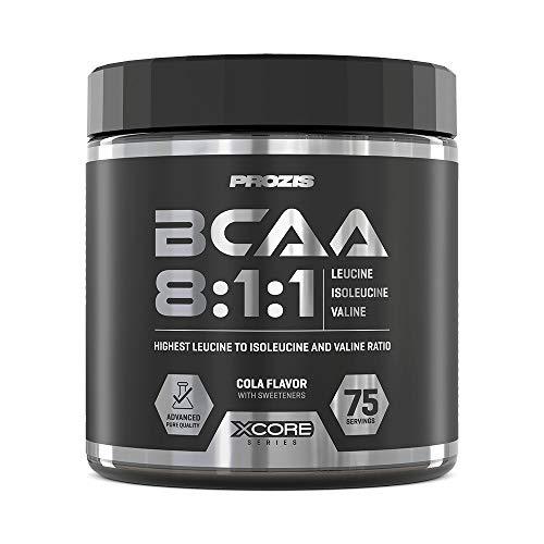 Prozis BCAA 8:1:1 SS Amminoacidi Ramificati, 300 g, Cola