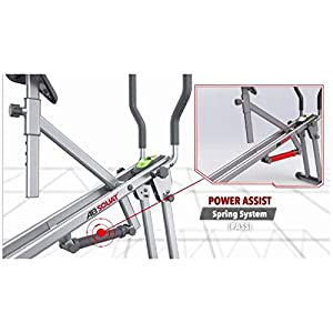 Star Uno Ab Squat Workout Machine - Assist Squat Exercise and Glute Workout to Tone and Firm Muscles, Grey, Model:7827-080-001