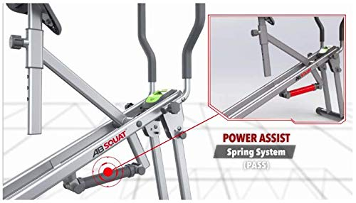 Product Image 5: Star Uno Ab Squat Workout Machine – Assist Squat Exercise and Glute Workout to Tone and Firm Muscles, Grey, Model:7827-080-001