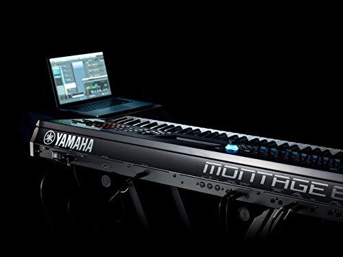 Yamaha Montage8 88-key Synthesizer Workstation, Black