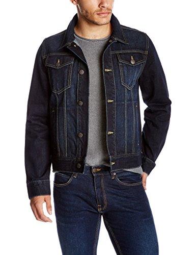 Quality Durables Co. Men's Regular Fit Jean Jacket 2XL Rinsed Wash