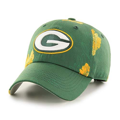 OTS NFL Green Bay Packers Women's Elsie Challenger Adjustable Hat, Team Color, Women's