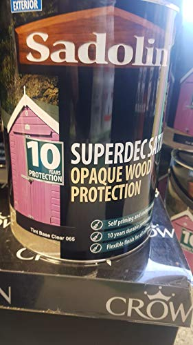 5L Sadolin Opaque Wood Protection 065 Clear