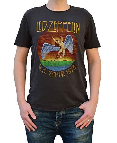 Amplified Led Zeppelin US Tour 75 Unisex T-Shirt (S)
