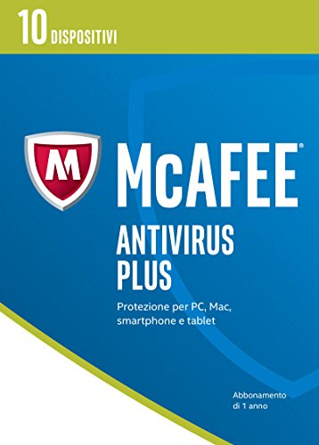 McAfee MAV Antivirus Plus 2017 - 10 Dispositivi