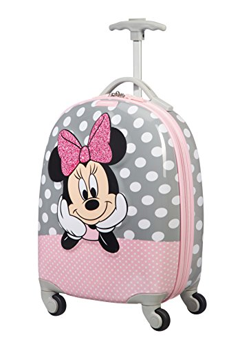 Samsonite Disney Ultimate 2.0 - Valigia per Bambini, 46.5 cm, 20.5 L, Multicolore (Minnie Glitter)