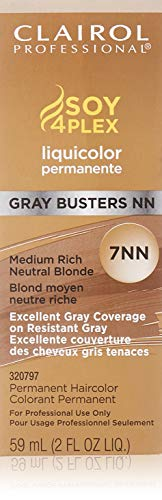 Clairol Professional Liquicolor 7NN, Medium Rich Neutral Blonde, 2 Ounce