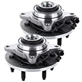 ANPART Replaces 515079 Front Wheel Axle Bearing and Hub Assembly 2005-2008 For Ford F-150 2004 For Ford F-150 Heritage Wheel Hub and Bearing Kit(2 PCS)