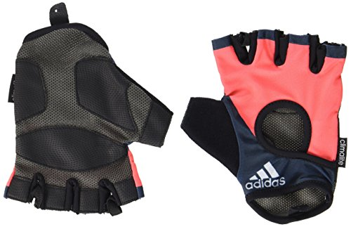 Adidas Fitness - Guantes de fitness, Rosa (Flash Red), M