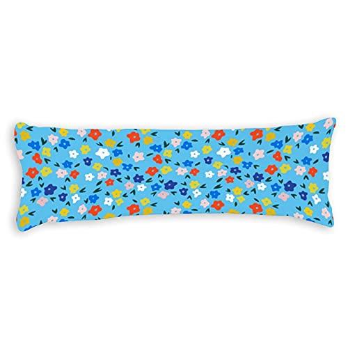 Promini Whimsical - Funda de almohada para sofá, banco, cama, decoración del hogar, 50,8 x 137,2 cm