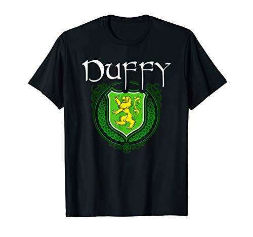 Duffy Surname Irish Last Name Duffy family crest T-shirt