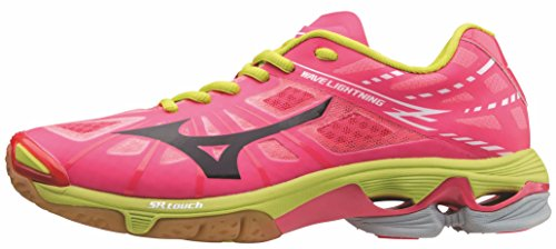 Mizuno V1GC150066 - Zapatilla de volley Wave Lightning Z Low para mujer, talla 44