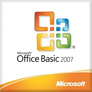 Microsoft Office Basic 2007 Medialess License Kit for System Builders - 3 pack [LICENSE ONLY] [Old Version]