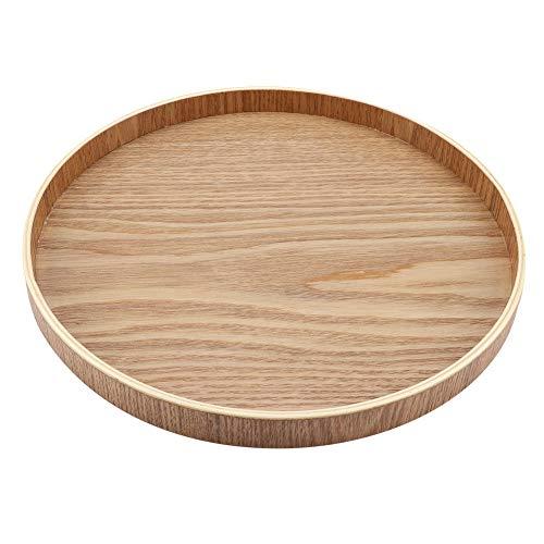 DEWIN dienblad - dienblad houten dienblad plaat voor thee set vruchten snoepjes eten huisdecoratie