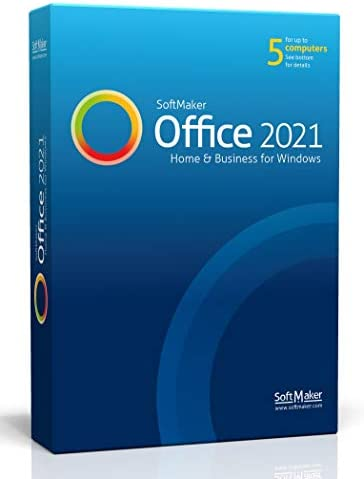 SoftMaker Office 2021 Word processing spreadsheet and presentation software for Windows 10 8 product image