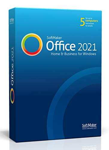 SoftMaker Office 2021 - Word processing, spreadsheet and presentation...