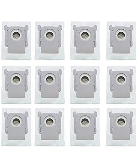 YanBan Paquete de 12 bolsas de repuesto para aspiradora iRobot Roomba i7 i7+ s9 s9+ Clean Base Aspiradora