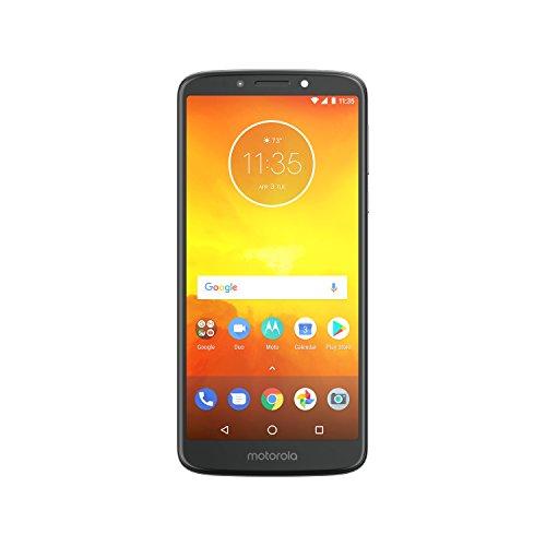 """Motorola E5 Smartphone da 5,7"""" 1440 x 720,4G LTE, 2 GB RAM, 16 GB ROM, Camera da 13 MP, Android 8.0, Grigio, [Italia]"""